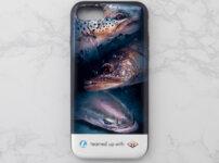 トラウトのiPhoneケース画像1
