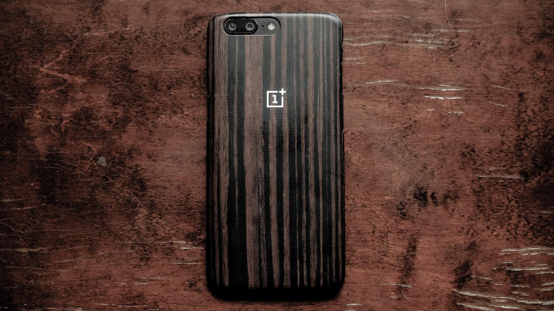 木材のスマホケースイメージ